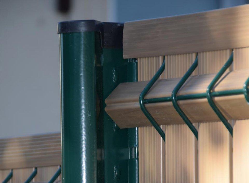 Cl ture rigide mod le bambou clod co - Modele de cloture exterieur ...